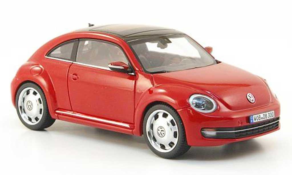 Volkswagen Beetle 1/43 Schuco rouge 2011 miniature