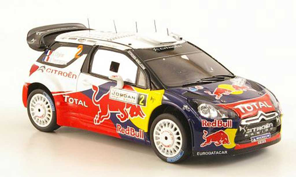 DS Automobiles DS3 WRC 2011 1/43 Spark No.2 Total Rally Jordanien miniature