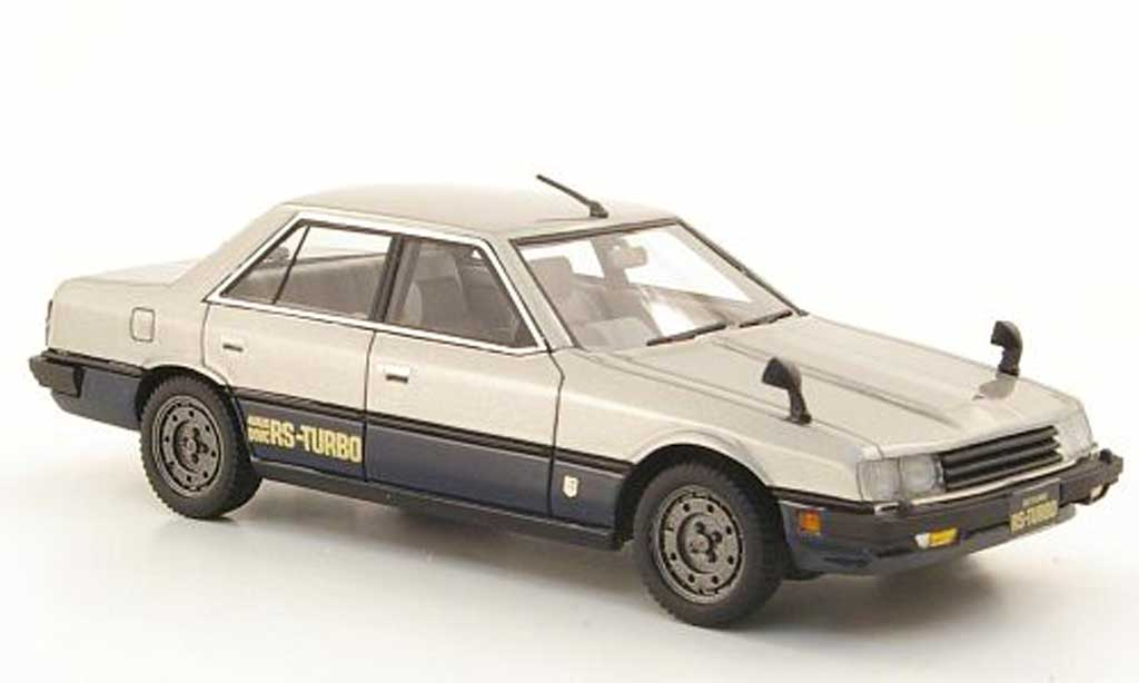 Nissan Skyline 2000 1/43 Hi Story Sedan Turbo grau grau/bleu RHD 1983 modellautos