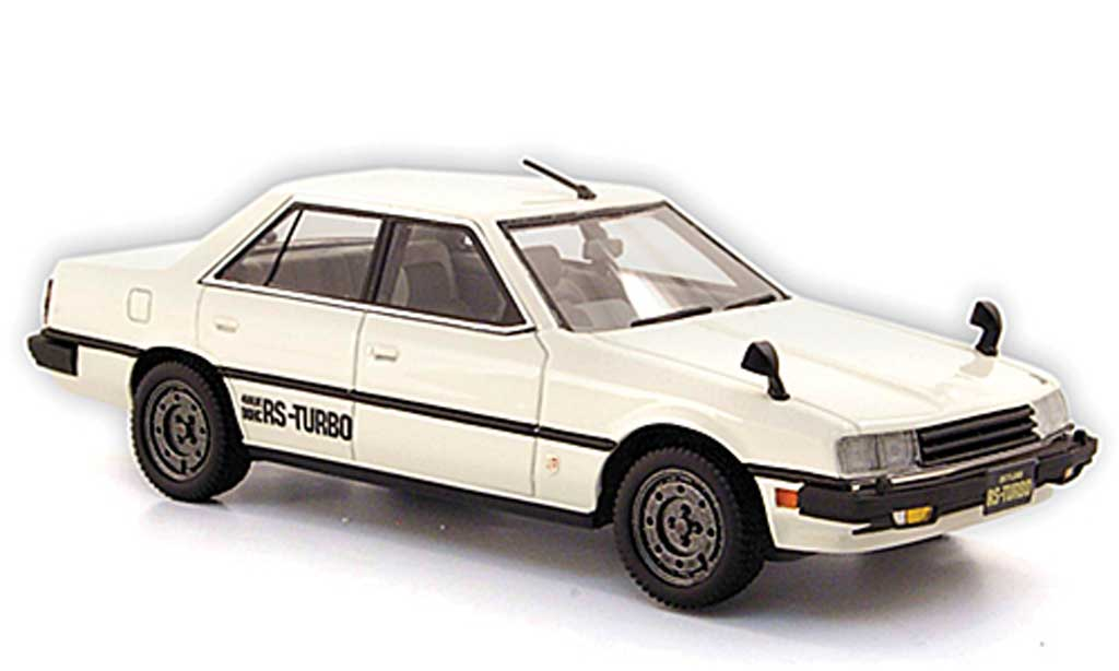 Nissan Skyline 2000 1/43 Hi Story Sedan Turbo blanche RHD 1983 miniature