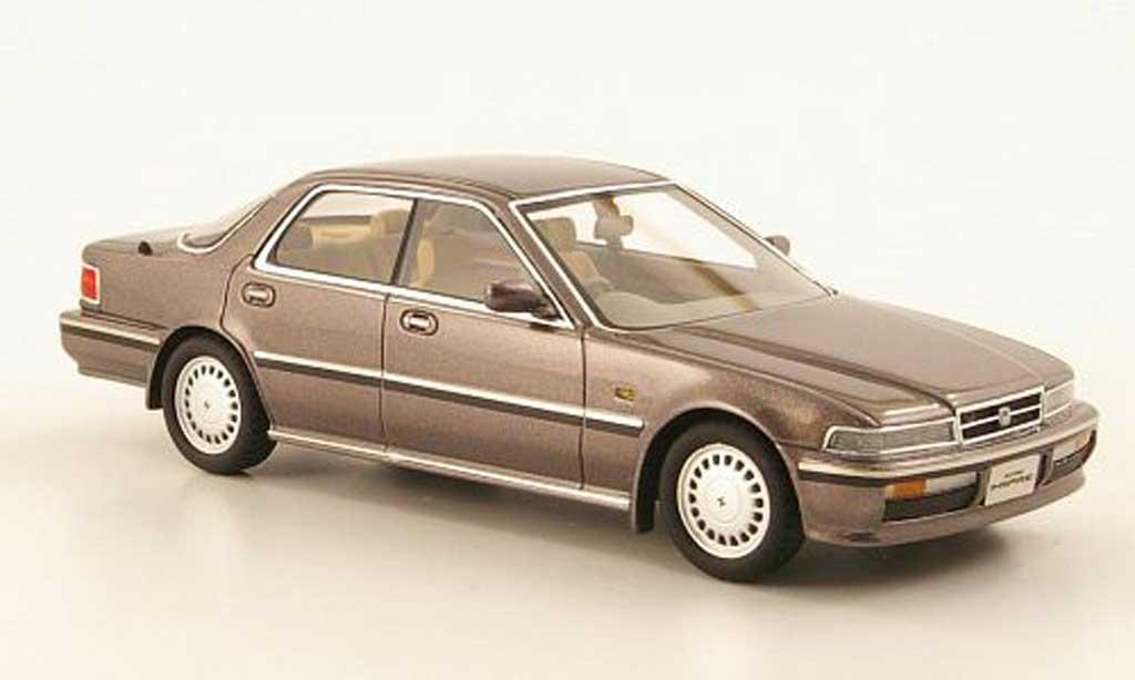 Honda Accord Inspire 1/43 Hi Story Inspire AX-i greymarron RHD 1989 diecast model cars