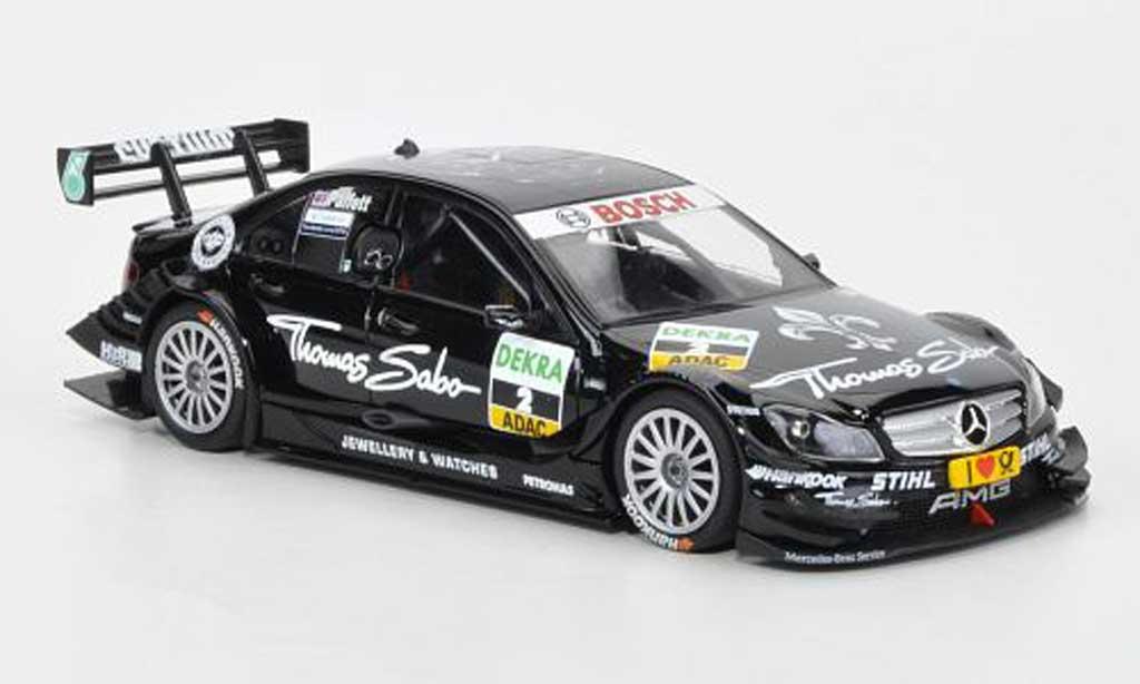 Mercedes Classe C 1/43 Minichamps DTM No.2 Team AMG-Thomas Sabo G.Paffett DTM Saison 2011 miniature