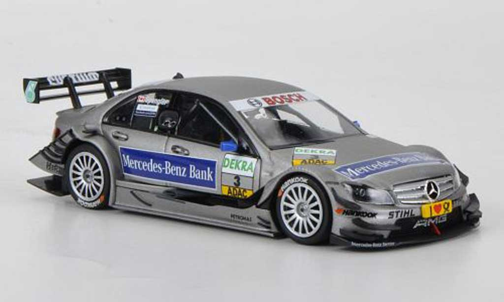 Mercedes Classe C DTM 1/43 Minichamps No.3 Mercedes-Benz Bank B.Spengler Saison miniature