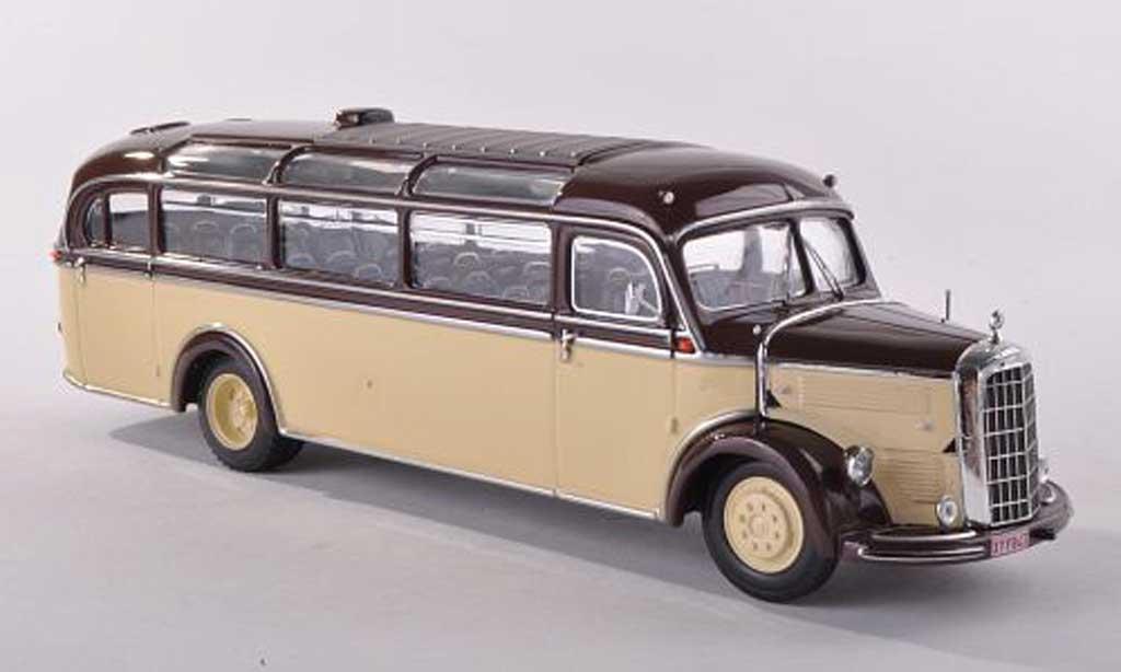 Mercedes L3500 1/43 Minichamps bus Sadar 1950 miniature