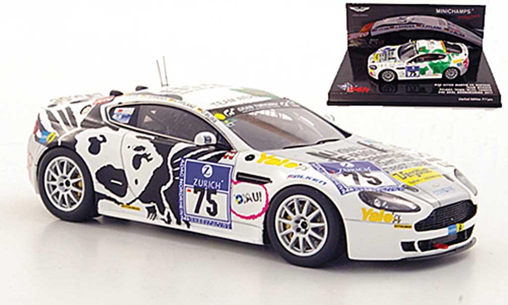 Aston Martin V8 1/43 Minichamps No.75 Team Werner ADAC 24h Nurburgring 2011 diecast