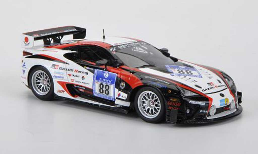Lexus LFA 1/43 Minichamps No.88 Gazoo Racing 24h Nurburgring 2011 miniature