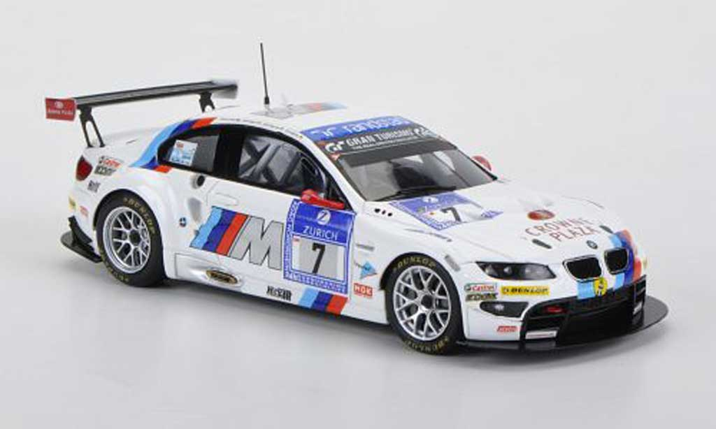 Bmw M3 E92 1/43 Minichamps GT2 No.7 Motorsport 24h Nurburgring 2011 miniature