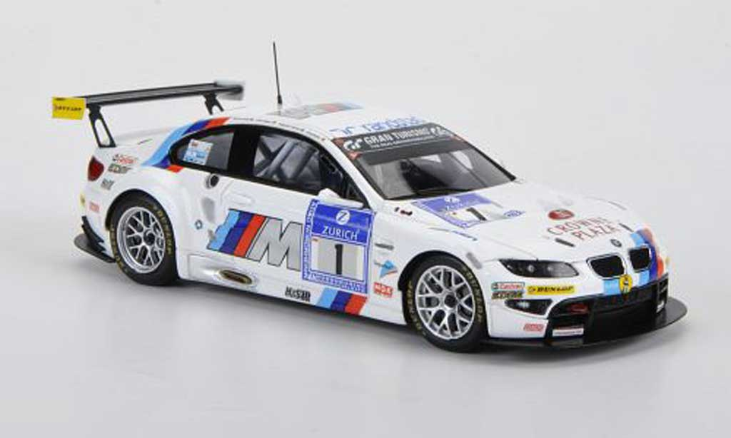 Bmw M3 E92 1/43 Minichamps GT2 No.1 Motorsport 24h Nurburgring 2011 miniature