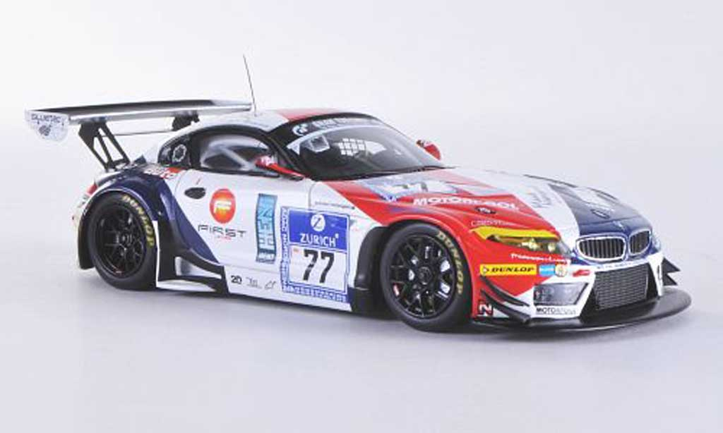 Bmw Z4 E89 1/43 Minichamps GT3 No.77 Need for Speed Team Schubert 24h ADAC Nurburgring 2011 A.Buchardt / J.Mayes / P.Posavac / S.Sorlie miniature