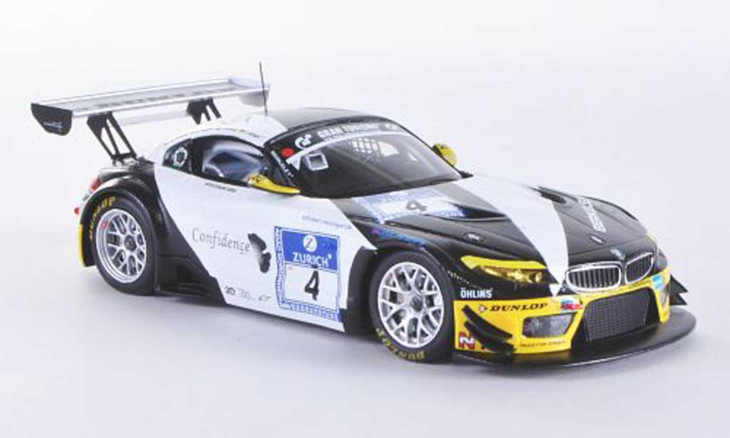 Bmw Z4 E89 1/43 Minichamps GT3 No.4 Need for Speed Team Schubert 24h ADAC Nurburgring 2011 M.Hartung / J.Viebahn / T.Coronel / C.Hurtgen miniature