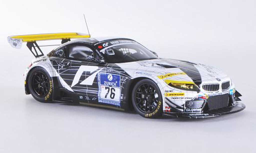 Bmw Z4 E89 1/43 Minichamps GT3 No.76 Need for Speed Team Schubert 24h ADAC Nurburgring 2011 E.Sandstrom / T.Milner / F.Larsson / C.Hurtgen diecast