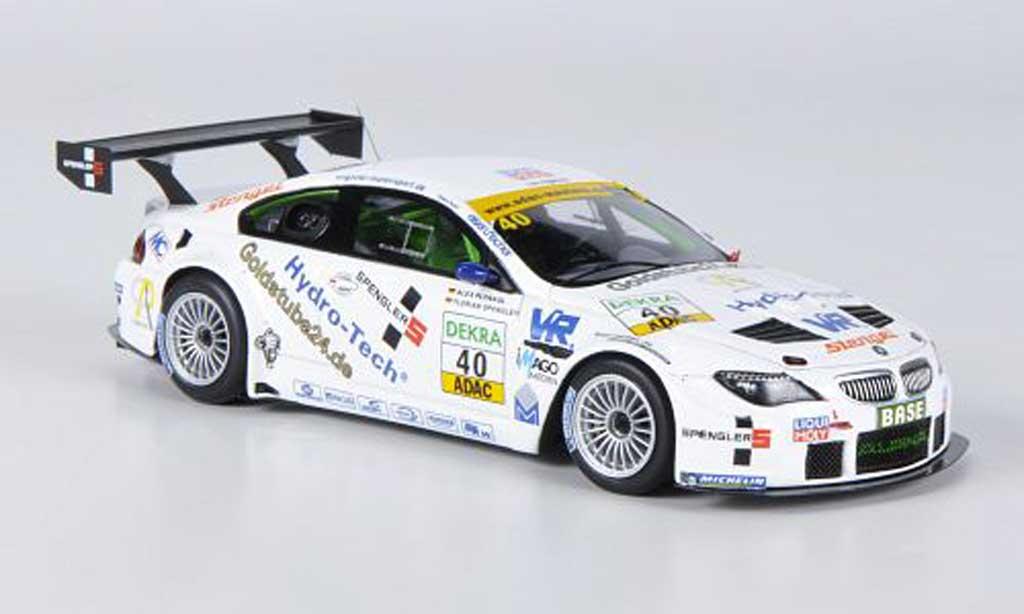 Bmw Alpina B6 1/43 Minichamps GT3 No.40 Liqui Moly Team Engstler ADAC GT Masters 2011 miniature