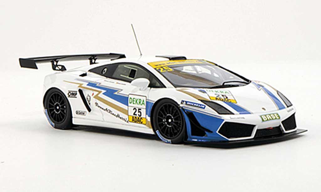 Lamborghini Gallardo LP600-4 1/43 Minichamps No.25 Reiter Engineering T.Hammam / F.Kechele ADAC GT Masters-Saison 2011 miniature