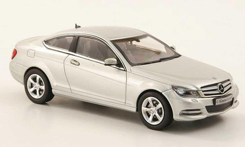 Mercedes Classe C 1/43 Norev Coupe (C204) gray 2011 diecast