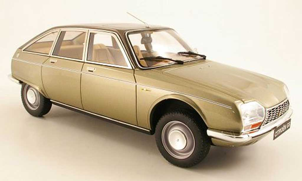 Citroen GS 1/18 Ottomobile Birougeor beige/marron miniature
