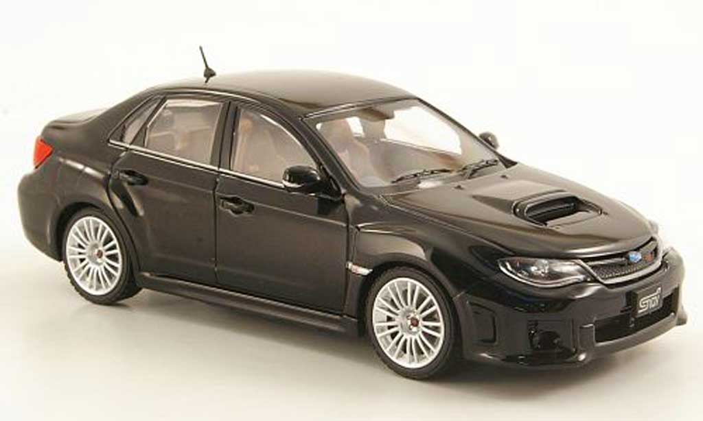Subaru Impreza WRX 1/43 Ebbro STI A-Line nero 2010 miniatura