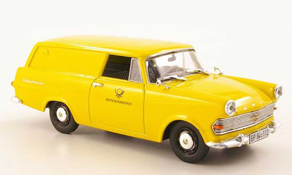 Opel Rekord 1/43 Bing P2 Kasten Deutsche Post miniature