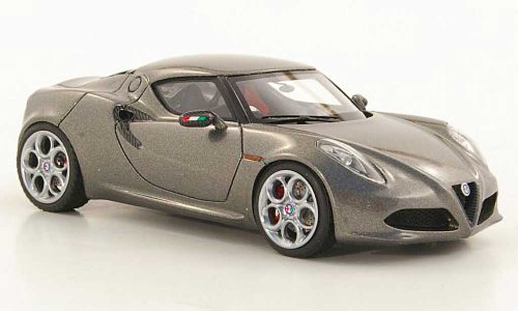Alfa Romeo 4C 1/43 Look Smart Concept grey IAA Frankfurt 2011 diecast model cars