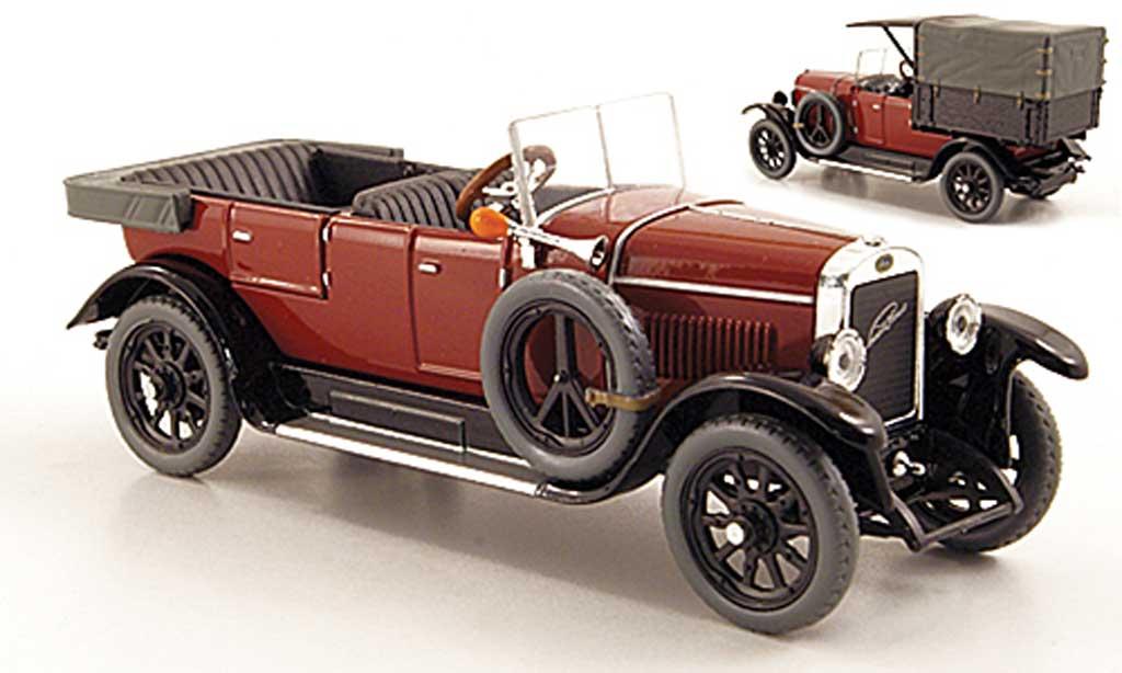 Skoda 110 1/43 Abrex Laurin & Klement Combi Limousine/Lieferwagen marron 1927 miniature