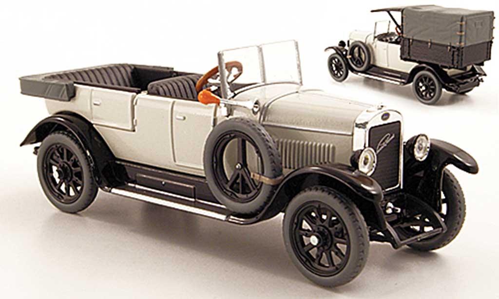 Skoda 110 1/43 Abrex Laurin & Klement Combi Limousine/Lieferwagen grise 1927 miniature