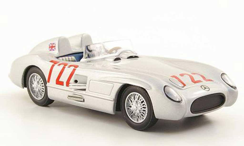 Mercedes 300 SLR 1/43 Hachette No.722 S.Moss / D.Jenkinson Mille Miglia 1955 miniature