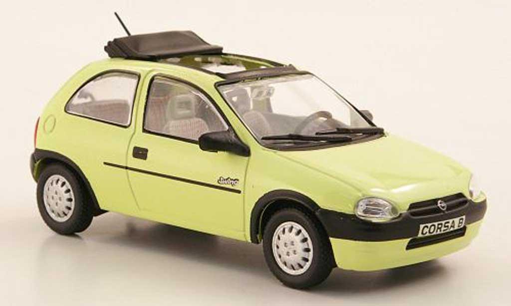 Opel Corsa 1/43 Hachette B Swing yellow (ohne Magazin) 1993 diecast model cars