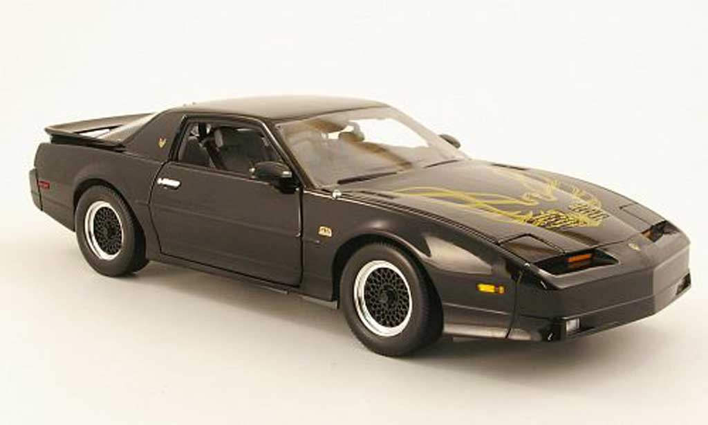 Pontiac Trans Am 1/18 Greenlight GTA noire 1988 miniature