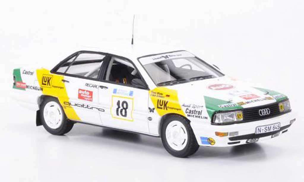 Audi 200 quattro 1/43 Neo No.18 Luk noire/Wicha Rallye Akropolis 1989 miniature