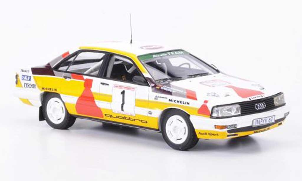 Audi 200 quattro 1/43 Neo No.1 No Smoking Drei Stadte Rallye limit.Auf.300 1987 miniature