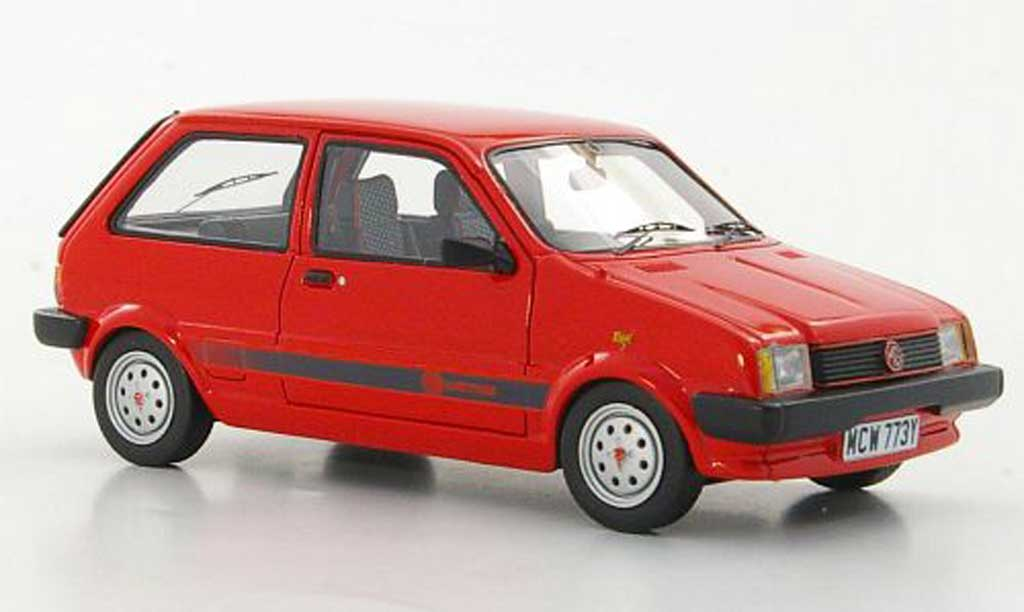 MG Metro 1/43 Neo 1300 MkI rouge RHD limited edition 1982 miniature