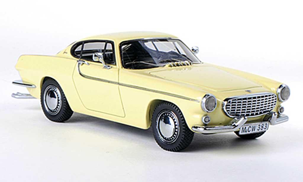 Volvo P1800 1/43 Neo Jensen jaune limitierte Auflage 300 Stuck 1961 miniature