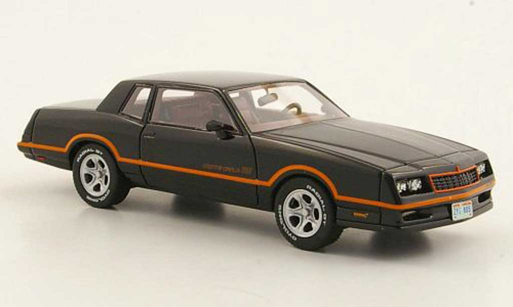 Chevrolet Monte Carlo 1/43 Neo SS noire 1986 miniature