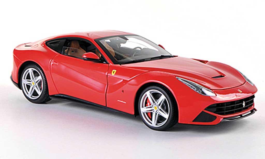 Ferrari F12 1/18 Hot Wheels Elite Berlinetta rot (Elite) modellautos
