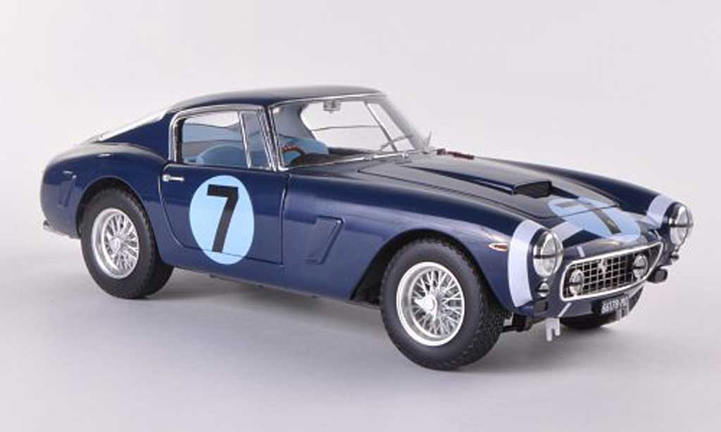 Ferrari 250 GT 1961 1/18 Hot Wheels Elite SWB No.7 RAC Tourist Trophy Goodwood (Elite) miniature