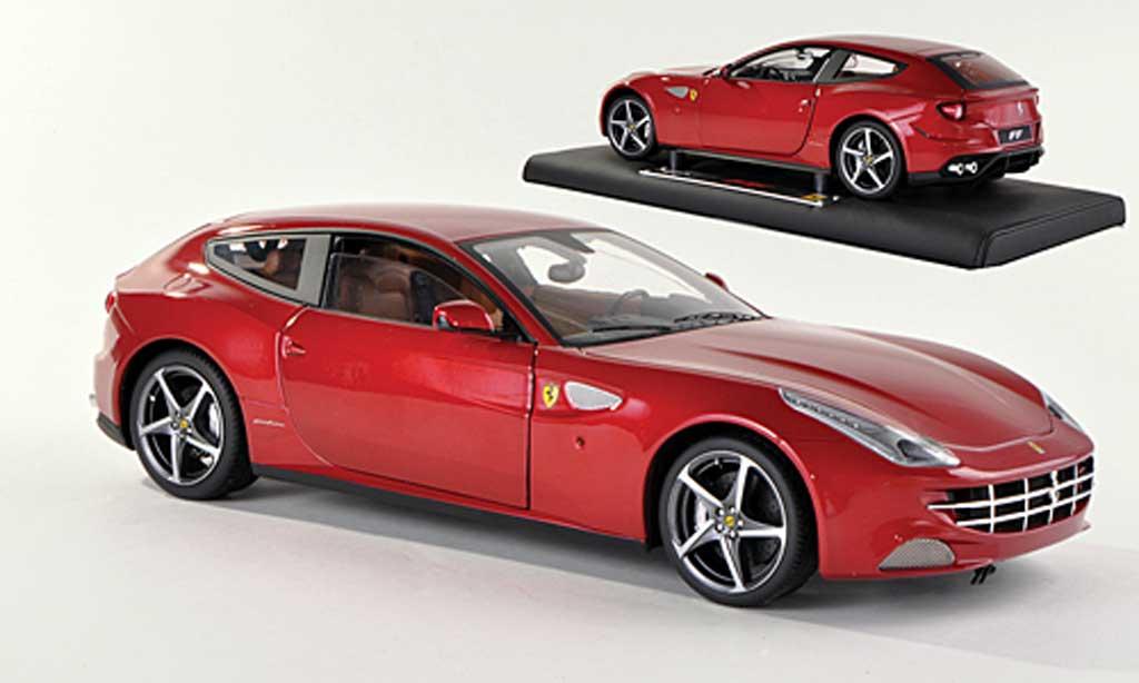 Ferrari FF 1/18 Hot Wheels Elite rouge (Elite Special) miniature