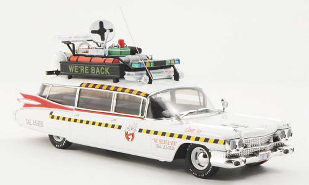 Cadillac Ecto 1A 1/43 Hot Wheels Elite 1A Ghostbusters II (Elite) miniature