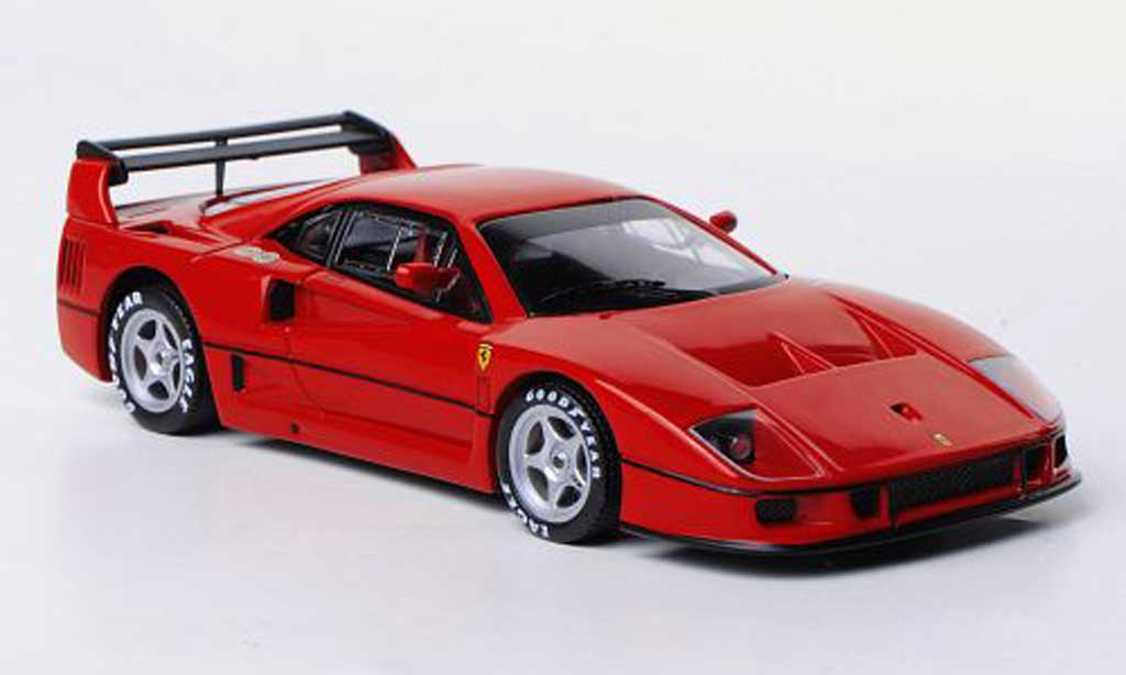 Ferrari F40 1/43 Hot Wheels Elite Competizione Presentationsfahrzeug rouge miniature