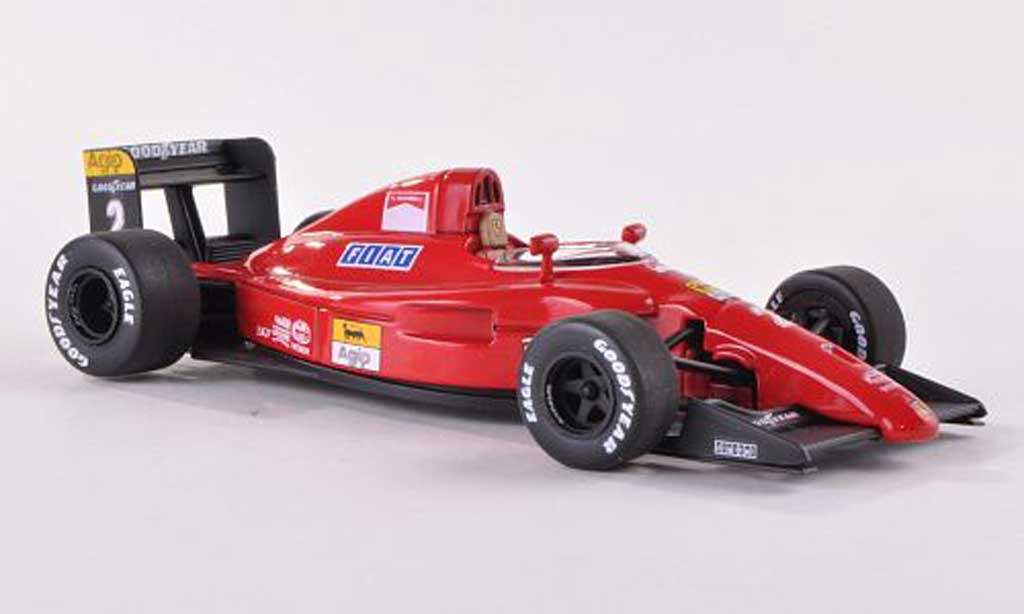 Ferrari F1 1990 1/43 Hot Wheels Elite (641/2) No.2 GP Portugal (Elite) miniature