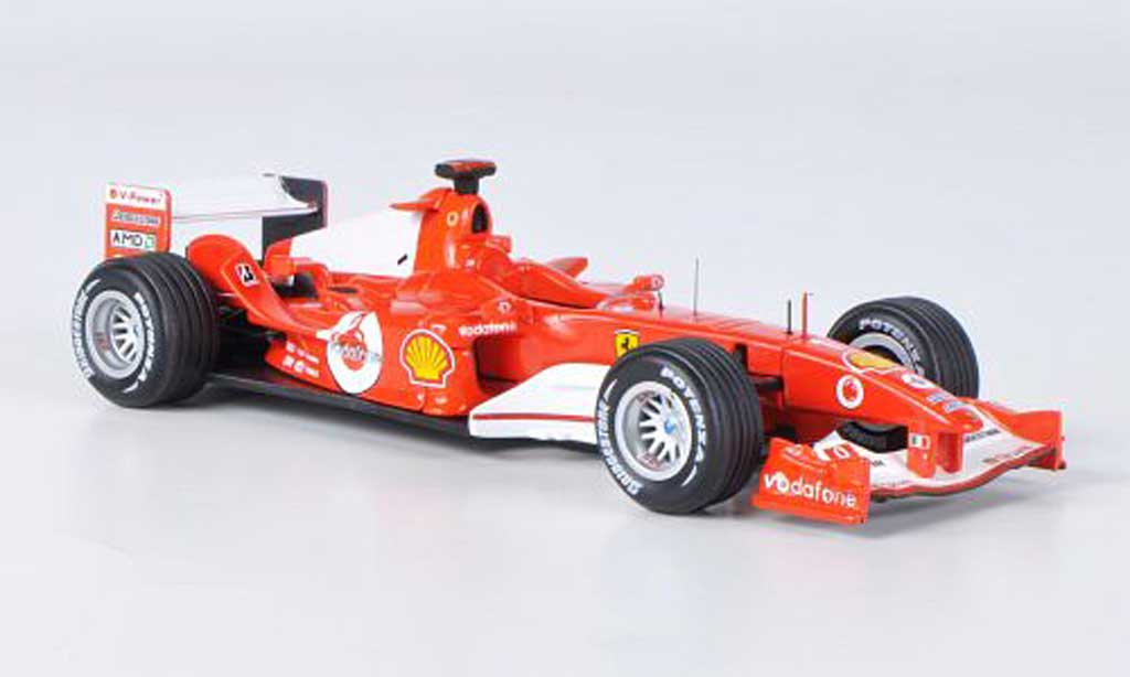Ferrari F1 F2004 1/43 Hot Wheels Elite No.1 M.Schumacher GP Deutschland (Elite) miniature