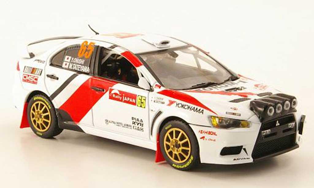 Mitsubishi Lancer Evolution X 1/43 Vitesse No.65 Rally Japan 2010 miniature