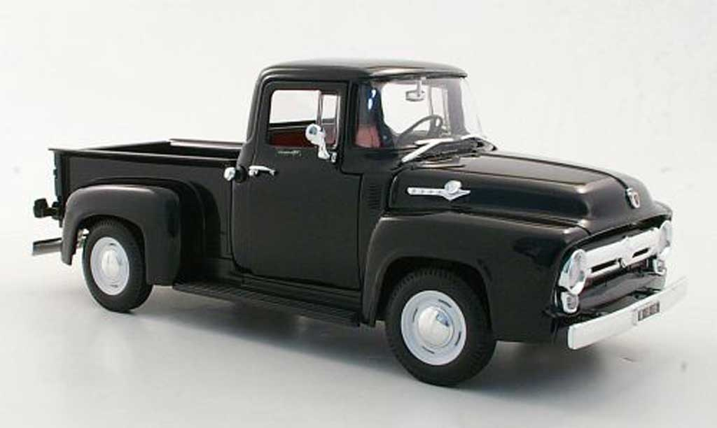Ford F1 1/18 Welly 00 Pick Up noire 1956 miniature