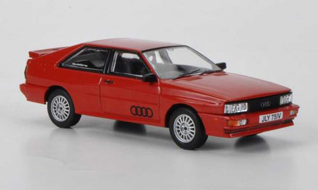 Audi Quattro 1/43 Corgi red 'Ashes to Ashes' RHD diecast