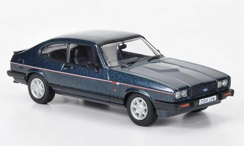 Ford Capri 1986 1/43 Vanguards 1986 MkIII 280 Brooklands grun RHD miniature