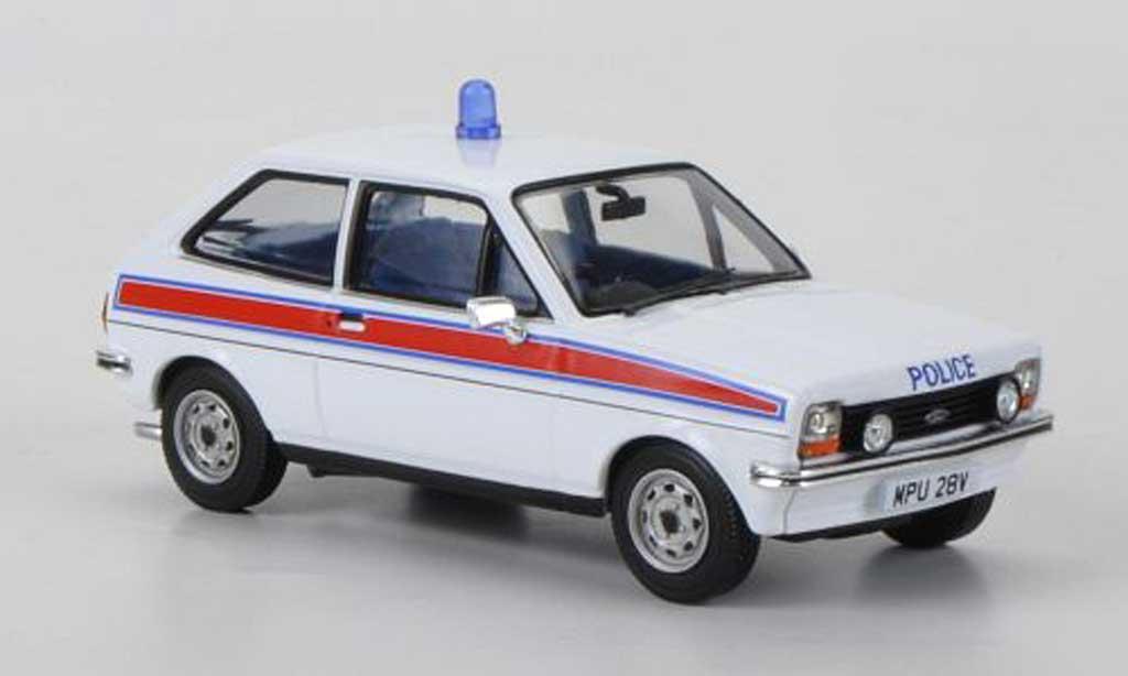 Ford Fiesta MKI 1/43 Vanguards 1.3 GL Hertfordshire Police (GB) miniature