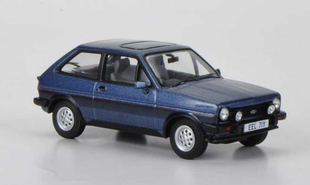 Ford Fiesta MKI 1/43 Vanguards XR2 bleu miniature