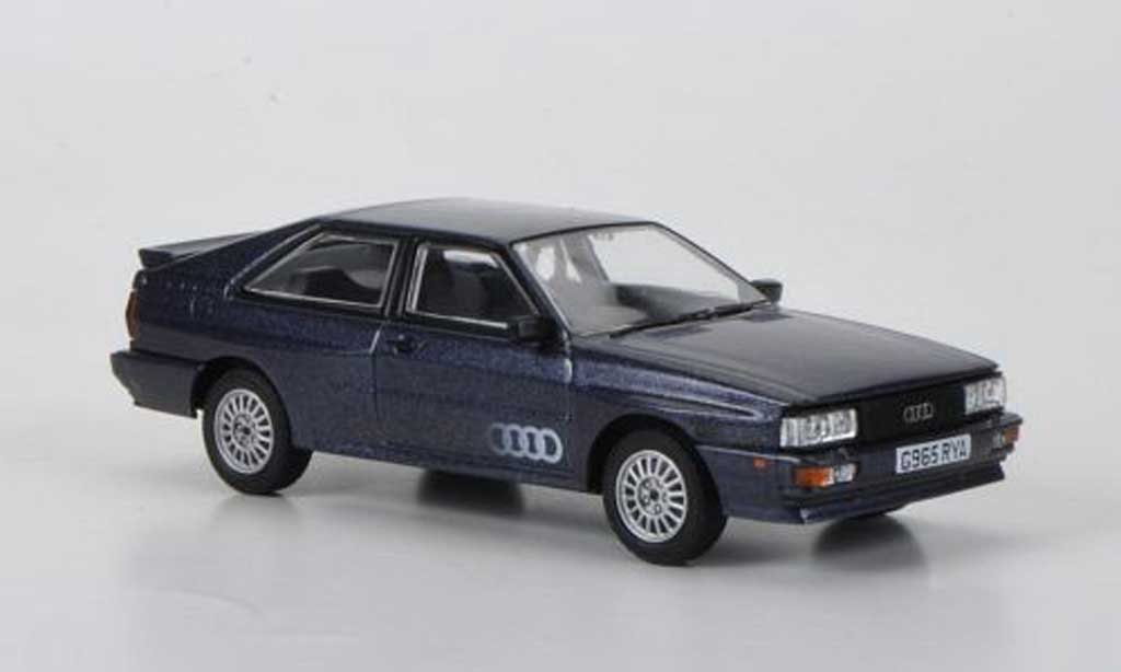Audi Quattro 1/43 Vanguards MkII 20V grisebleu RHD 1990 miniature