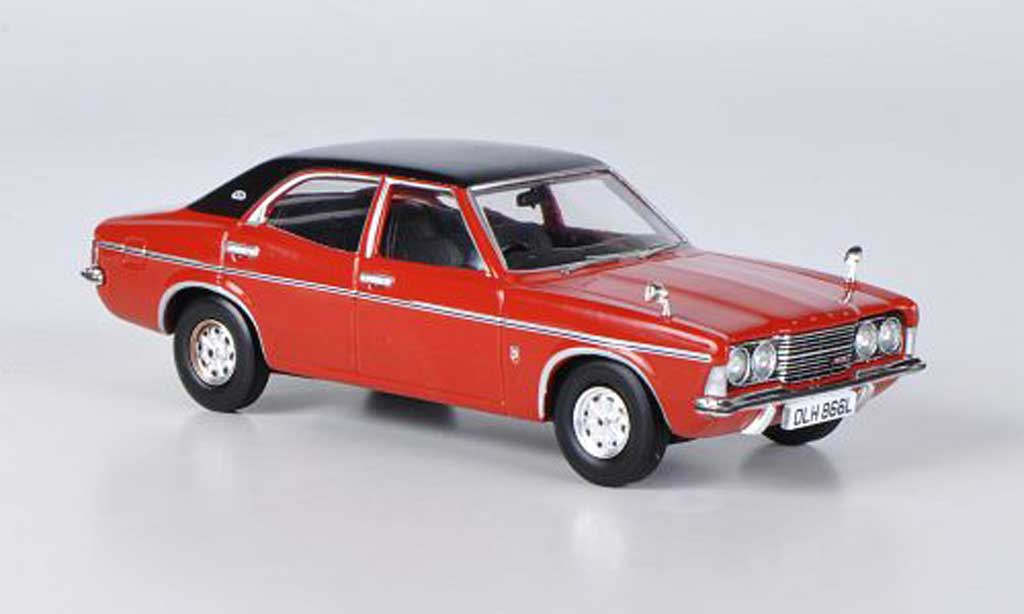 Ford Cortina 1/43 Vanguards MkIII 1.6 GXL rouge miniature