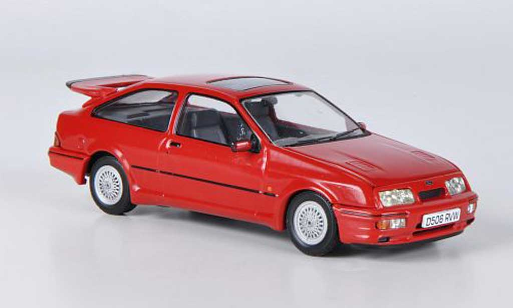 Ford Sierra Cosworth RS 1/43 Vanguards rouge Duke of Bedford miniature