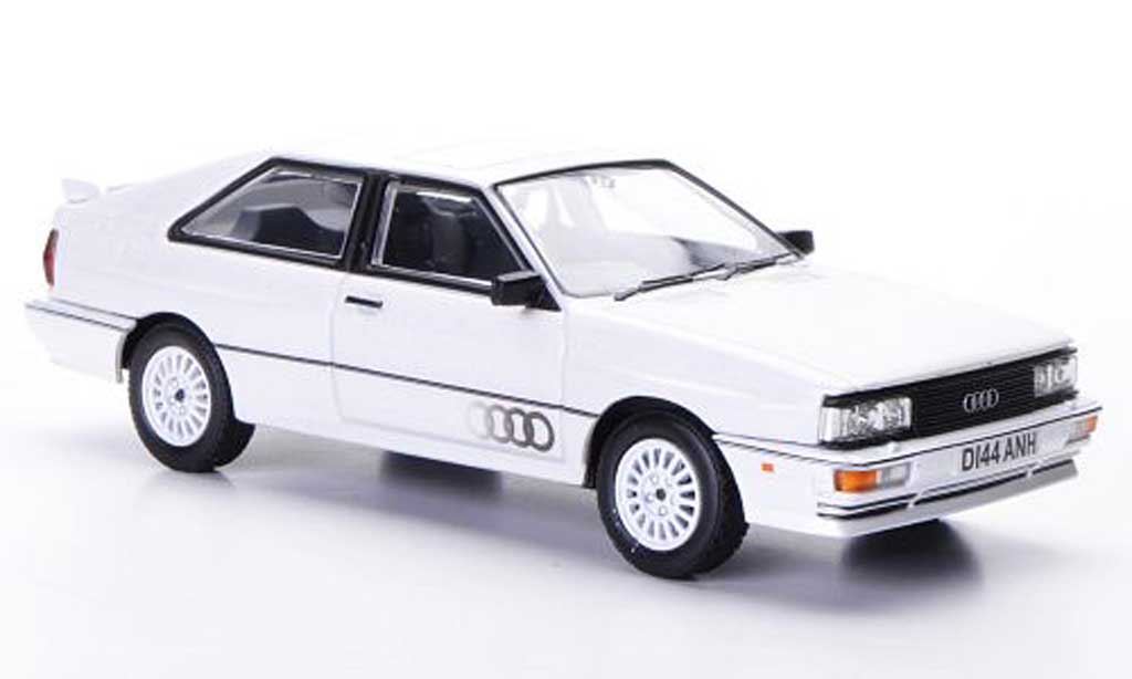 Audi Quattro 1/43 Vanguards MkII blanche RHD 1987 miniature