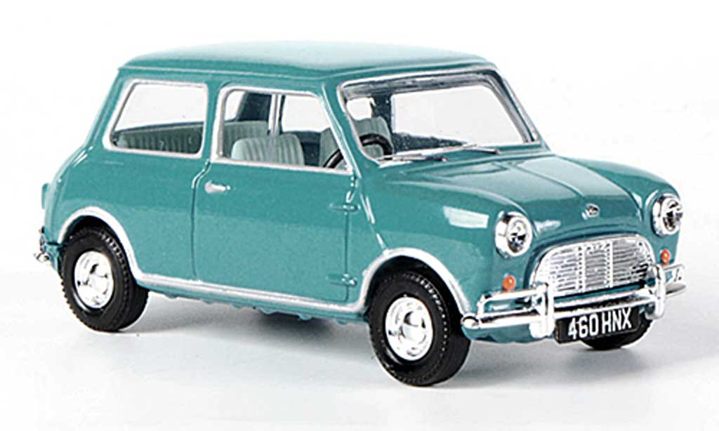 Austin Mini Cooper 1/43 Vanguards Super de Luxe bleu RHD diecast model cars